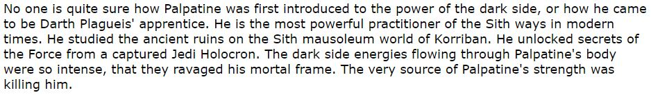 Top 30 Most Powerful Sith Lords DRAFT - Page 2 Modern10